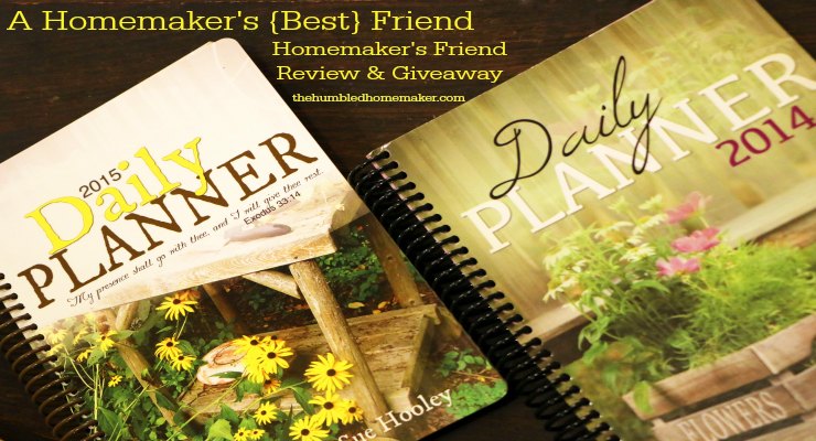 Homemaker's Friend Review and Giveaway