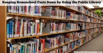 Keeping Homeschool Costs Down by Using the Public Library (2)