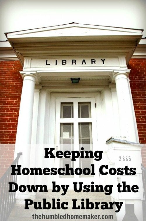 Keeping Homeschool Costs Down by Using the Public Library-TheHumbledHomemaker.com
