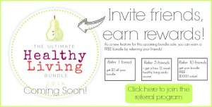 The Best Freebie All Year, an Amazing Giveaway + a Healthy Living Update