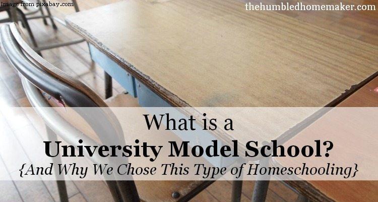 What is a University Model School?