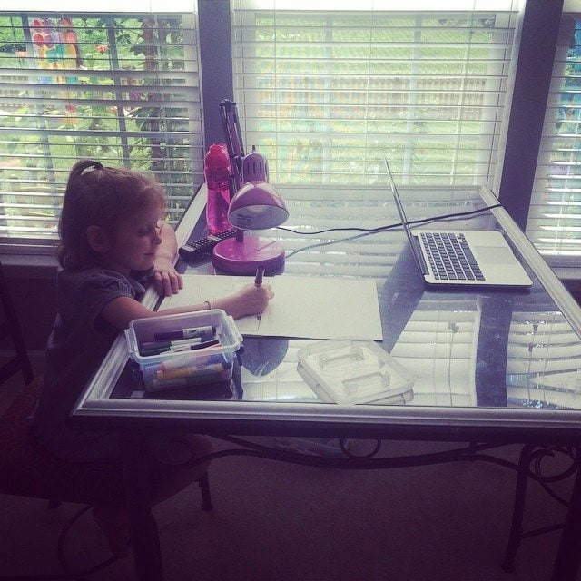 Check out this great part-time model of #homeschooling!