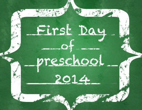 First Day of School Chalkboard Printables--FREE!