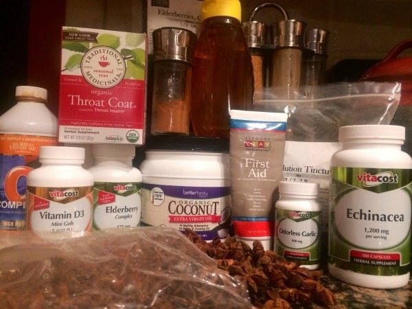 I've been wanting to build a natural medicine cabinet! I'm starting with these suggestions!