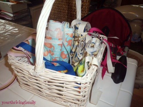 Capes in basket