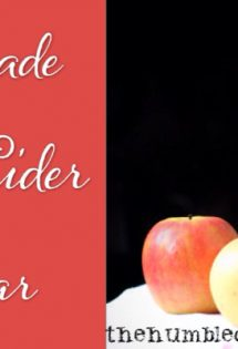 DIY Apple Cider Vinegar - TheHumbledHomemaker.com
