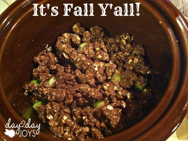 Fall Apple Crumble Recipe