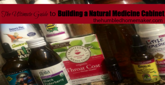 My Natural Medicine Cabinet The Humbled Homemaker