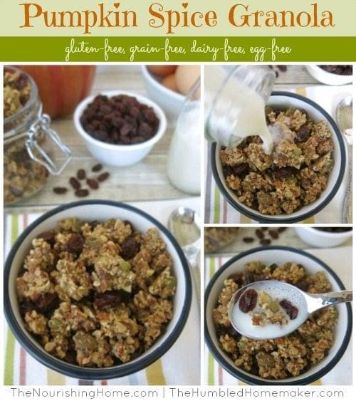Pumpkin Spice Granola - TheHumbledHomemaker.com