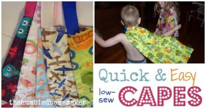Quick & Easy Capes for Kids