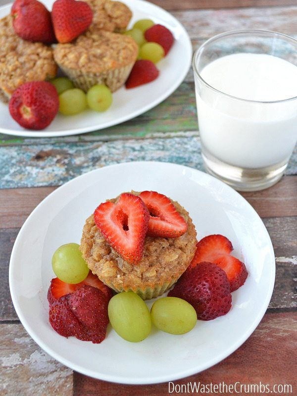 Salvaging Baked Oatmeal