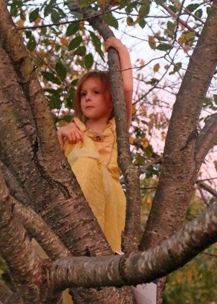 Tree Climbing Princess