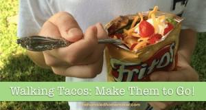 Walking Tacos - TheHumbledHomemaker.com