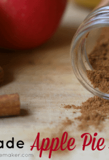 Homemade Apple Pie Spice - TheHumbledHomemaker.com