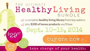 Get The Ultimate Healthy Living Bundle: 1 Week only! $29.97 for over $1,000 value! thehumbledhomemaker.com