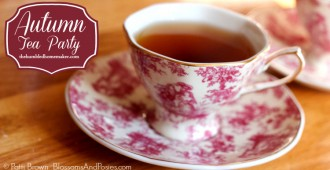 Autumn Tea Party - TheHumbledHomemaker.com