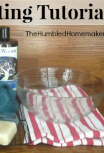 DIY Soap Felting Tutorial -- TheHumbledHomemaker.com