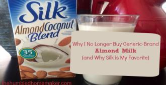 Why Silk Almond Milk is My Favorite