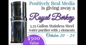 Win a Berkey Water FIlter at TheHumbledHomemaker.com