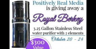 Win a Berkey Water FIlter at TheHumbledHomemaker.com