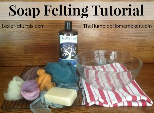soap felting