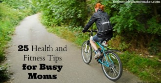 25 Health and Fitness Tips