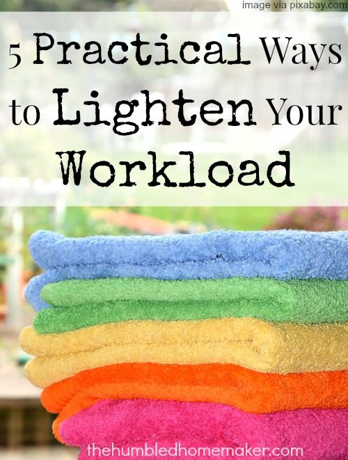 Saying yes to everything doesn't give you a full life. It just drains all of your energy and leaves you with not enough of you to go around.  Can you relate? If so, here are five practical ways to lighten your workload that can really help.