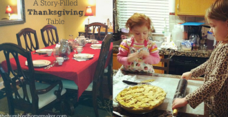 A Story-Filled Thanksgiving Table at The Humbled Homemaker