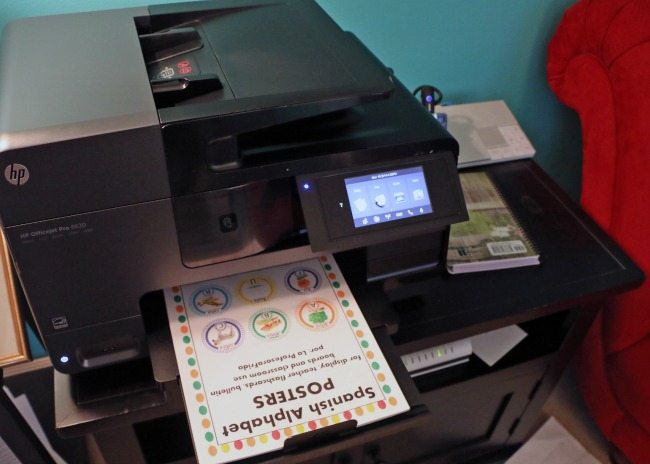 A good printer is a must for every homeschool family!