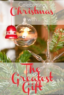 The Greatest Gift is a beautiful Advent reading book for families. It is a keepsake that will last for years to come!