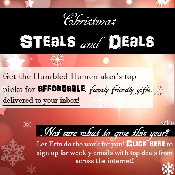 Christmas Steals and Deals at TheHumbledHomemaker.com