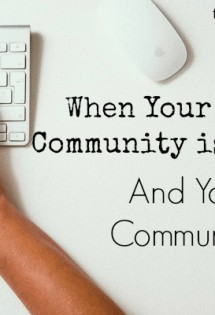 Is your online community too crowded? Real this.