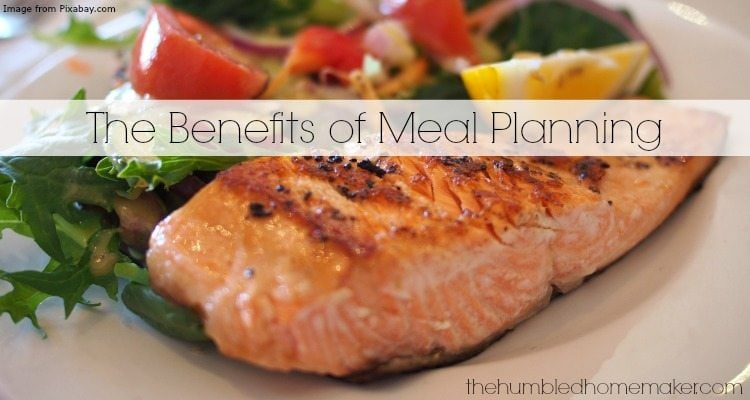 The Benefits of Meal Planning