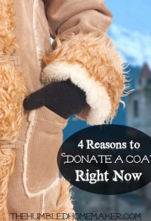 4 Reasons to Donate a Coat Right Now