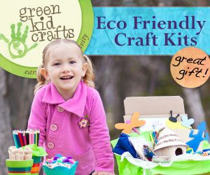 non-toy gift ideas for kids: Green Kids Crafts