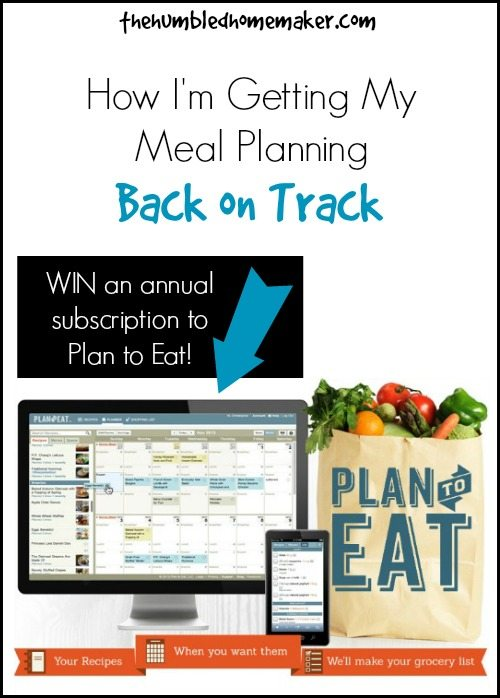 I need help with meal planning! Plan to Eat is the perfect tool for saving and organizing my recipes online--and creating handy shopping lists!