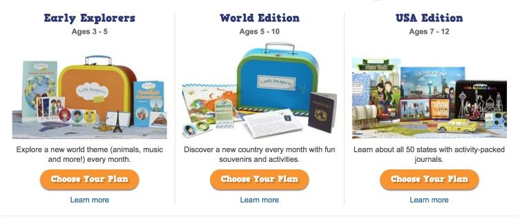 non-toy gift ideas for kids: Little Passports