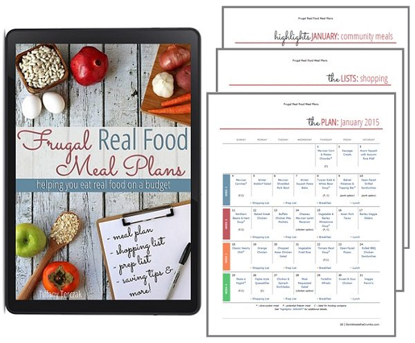 Frugal Real Food Meal Plans