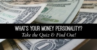 Take the Money Personality Quiz - TheHumbledHomemaker.com