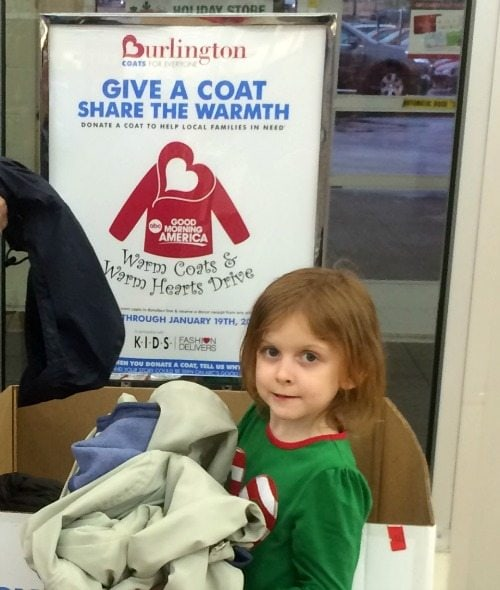 Easy Ways to Give Back During the Holidays: Donate a Coat