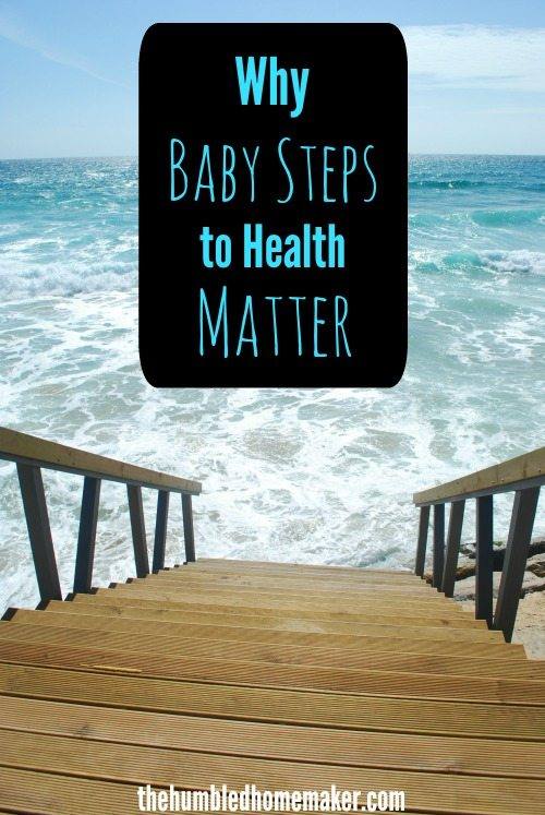 It's true! Baby steps make all the difference! Hope I can be better in setting realistic goals for healthy living this year!!