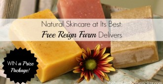 Win Natural Skincare from Free Reign Farm - TheHumbledHomemaker.com
