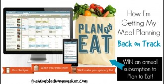 Win an Annual Subscription to Plan to Eat - TheHumbledHomemaker.com