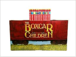 non-toy gift ideas for kids: Boxcar Children
