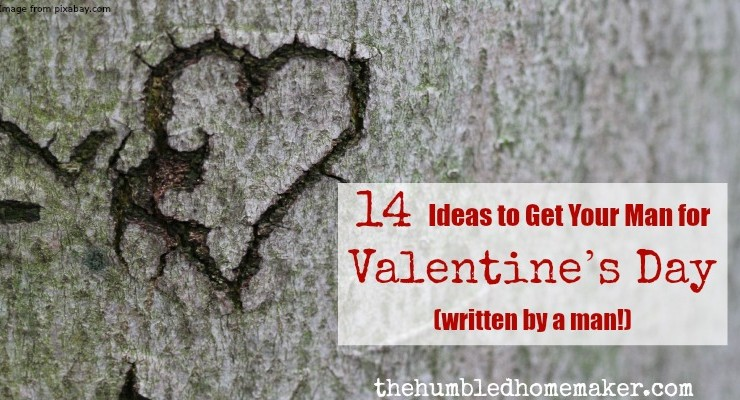 Men can be hard to buy for! Here's a great list of 14 Valentine's Day gift ideas for men! (And this list was compiled by a man!)