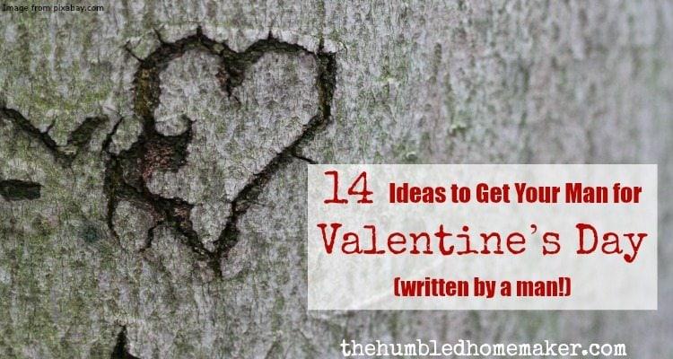 14 valentines day gift ideas for men the humbled homemaker valentines day presents for men can be tough to come up with heres lots of solutioingenieria Image collections