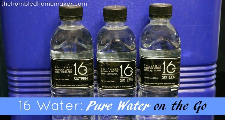 16 Water: Pure Water on the Go!