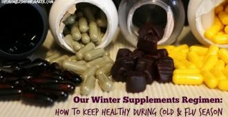 Our Winter Supplements Regimen