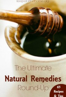 This natural remedies round-up was just what I was looking for! This will help my family stay healthy all winter long and avoid colds and the flu!