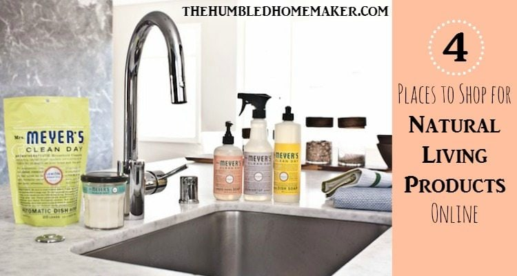 4 Places to Shop for Natural Living Products Online